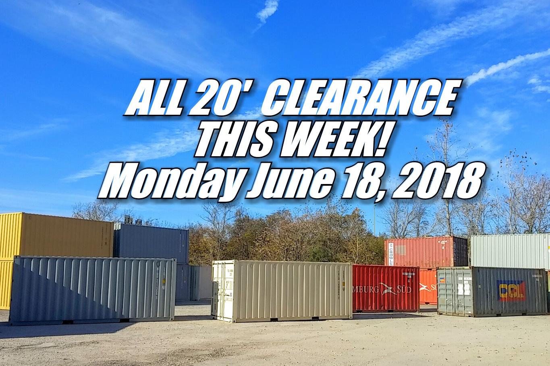 20 clearance