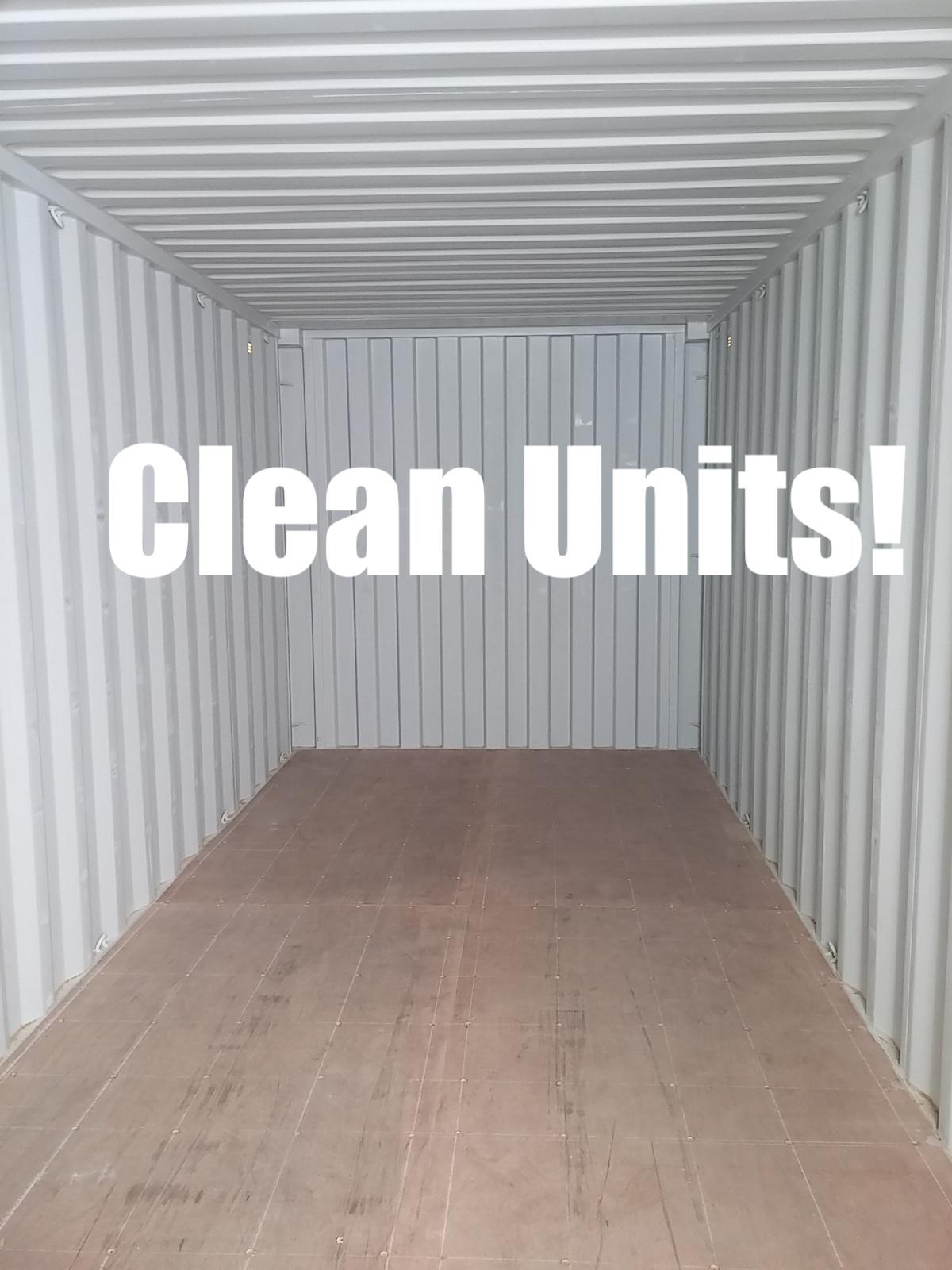 Clean Units!